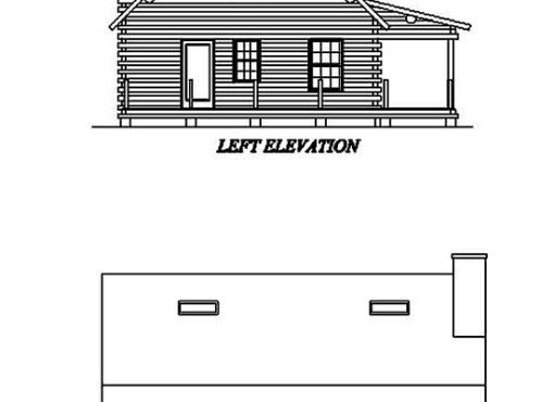Log Home Plan #02016