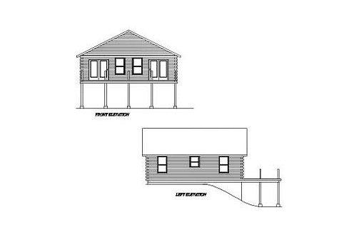 Log Home Plan #02022
