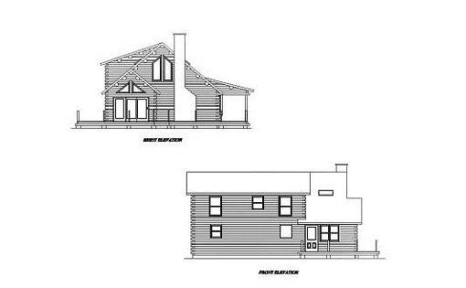 Log Home Plan #02030