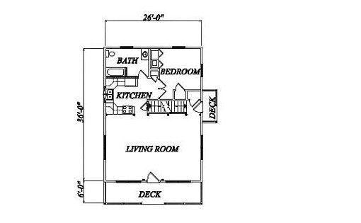 Log Home Plan #02031