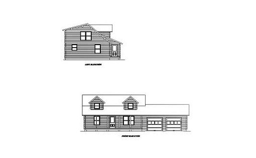 Log Home Plan #02032