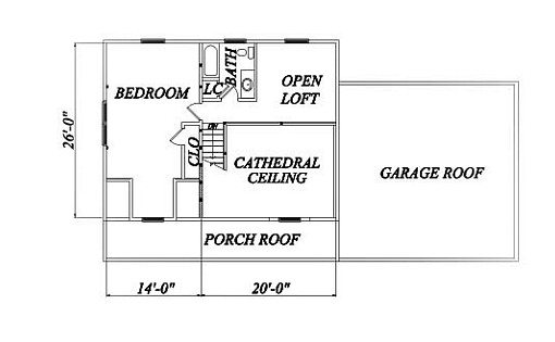 Log Home Plan #02032