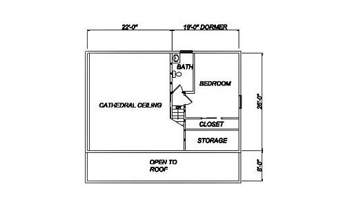 Log Home Plan #02033