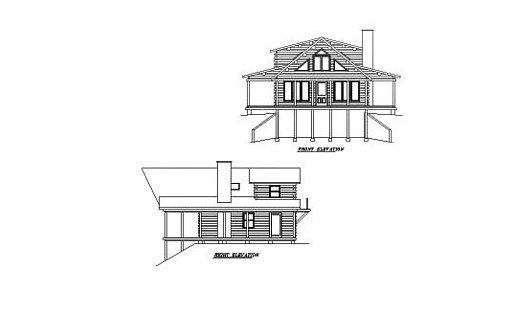 Log Home Plan #02038