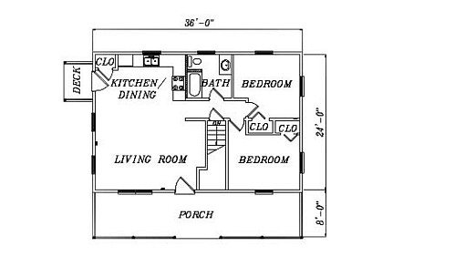 Log Home Plan #02039