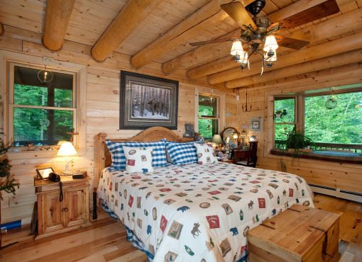 Log Home Plan #05414