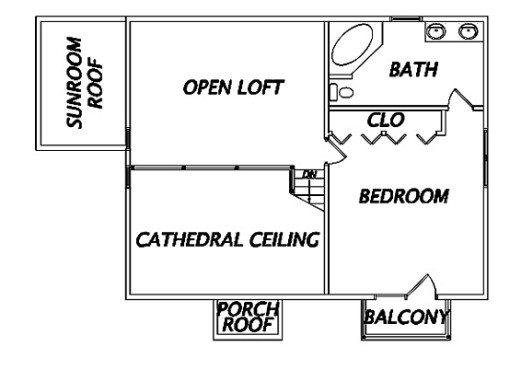 Log Home Plan #02915