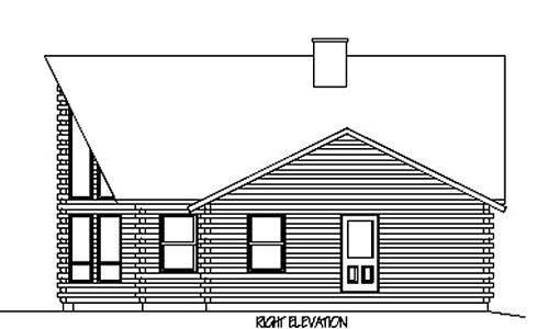 Log Home Plan #02934