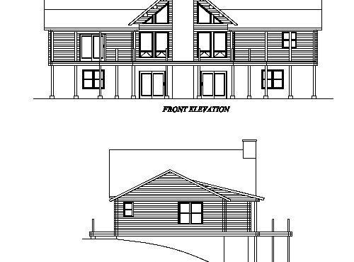 Log Home Plan #02935