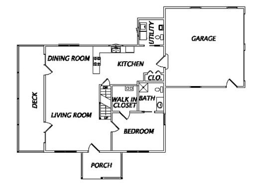 Log Home Plan #02944