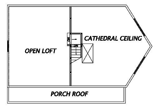 Log Home Plan #02969