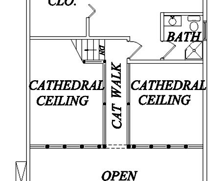Log Home Plan #02993