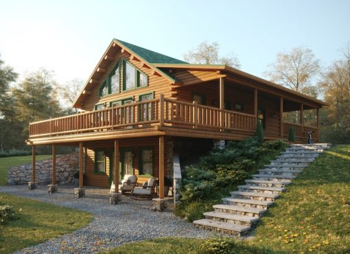 Custom Log Home Floor Plans | Katahdin Log Homes