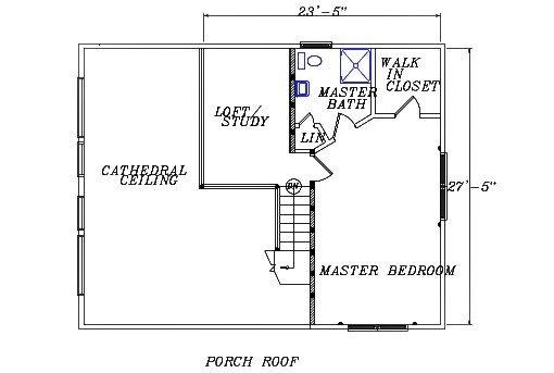 Log Home Plan #02974S