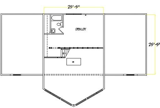 Log Home Plan #03031