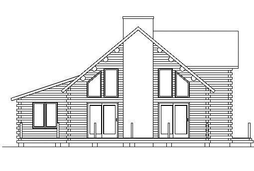 Log Home Plan #03061
