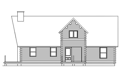 Log Home Plan #03061