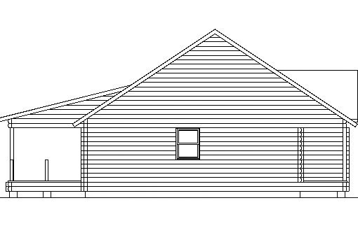 Log Home Plan #03067