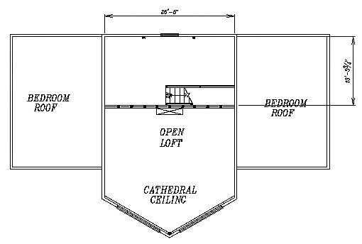 Log Home Plan #03076