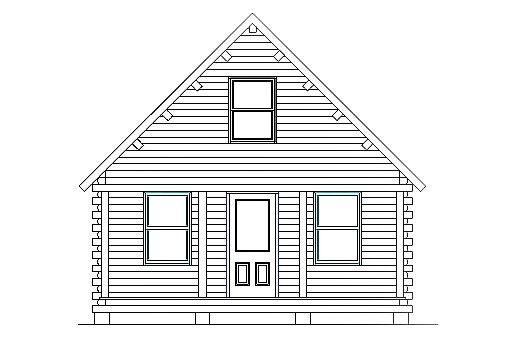 Log Home Plan #03078