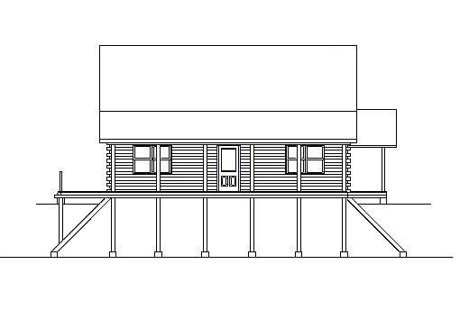 Log Home Plan #03083
