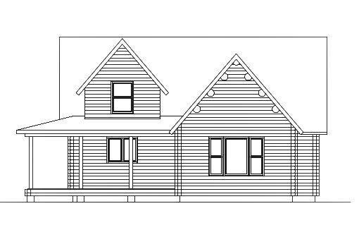 Log Home Plan #03086