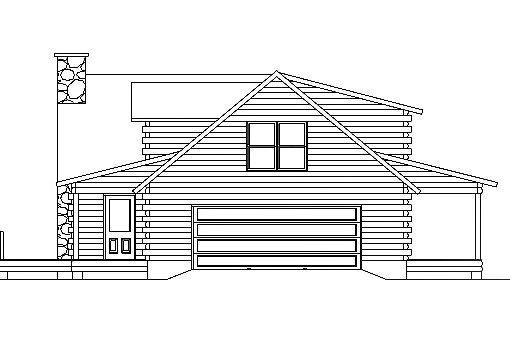Log Home Plan #03104