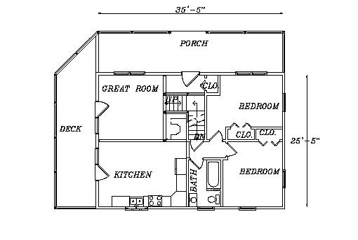 Log Home Plan #03114