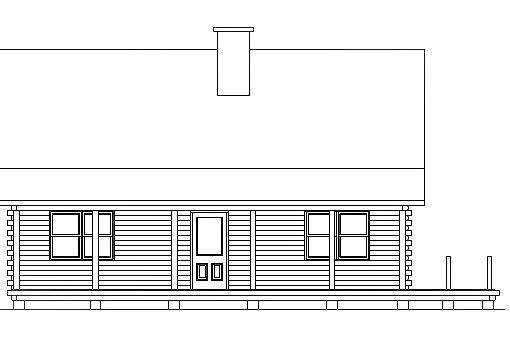 Log Home Plan #03114