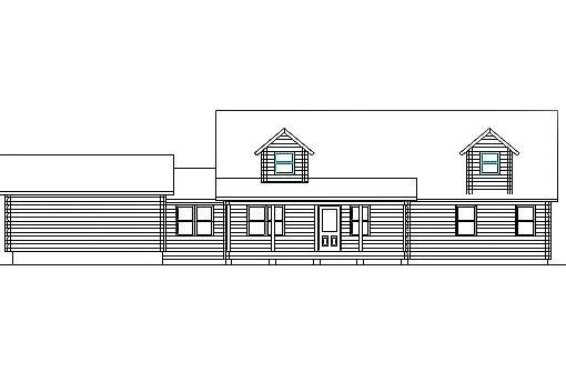 Log Home Plan #03115S