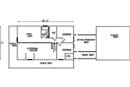 Log Home Plan #03126