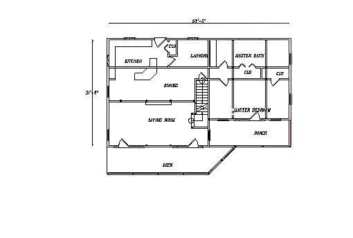 Log Home Plan #03127