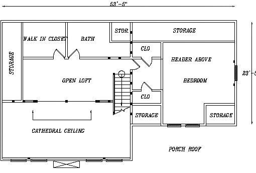 Log Home Plan #03127