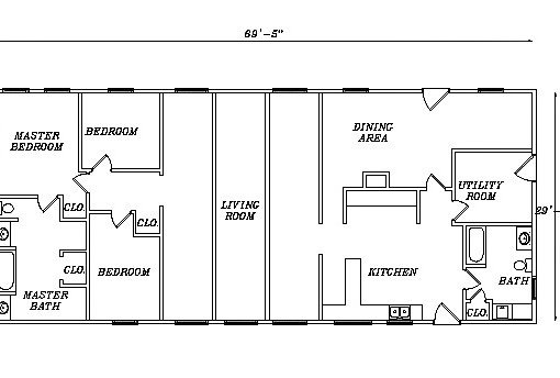 Log Home Plan #03128