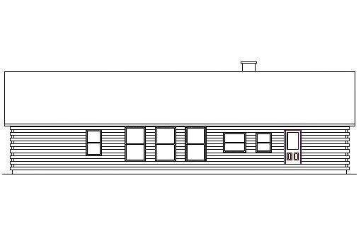 Log Home Plan #03128