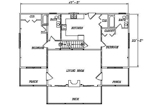 Log Home Plan #03149