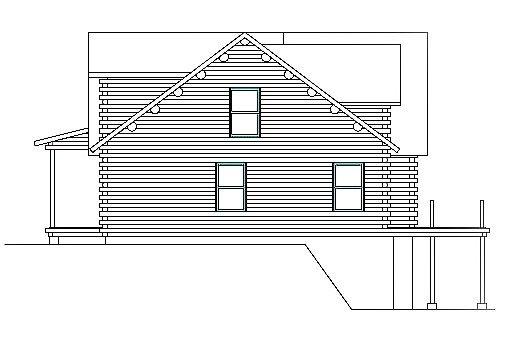 Log Home Plan #03151