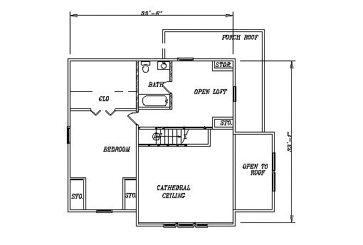 Log Home Plan #03151