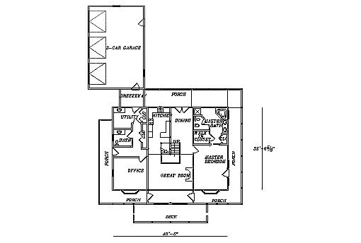 Log Home Plan #03162