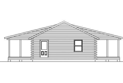 Log Home Plan #03167