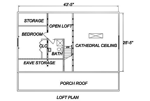 Log Home Plan #03177S