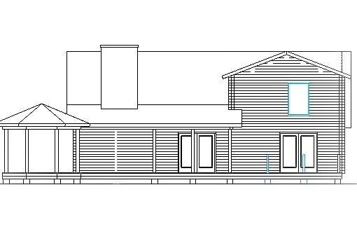 Log Home Plan #03179