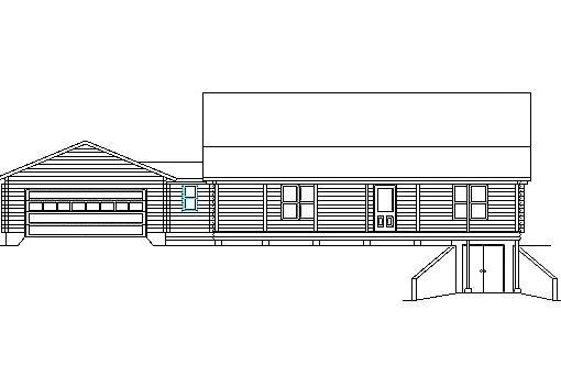 Log Home Plan #03185