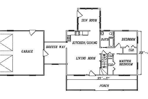 Log Home Plan #03188