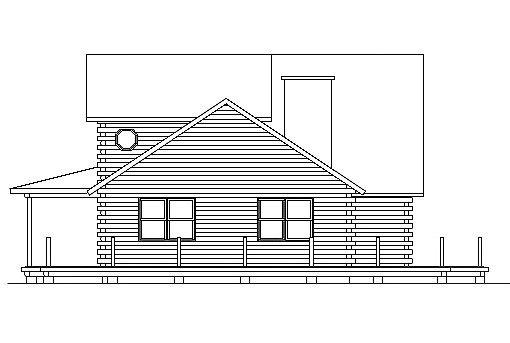 Log Home Plan #03193