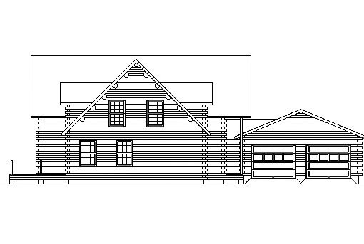 Log Home Plan #03205