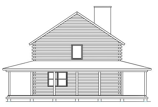 Log Home Plan #03210
