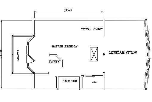 Log Home Plan #03220