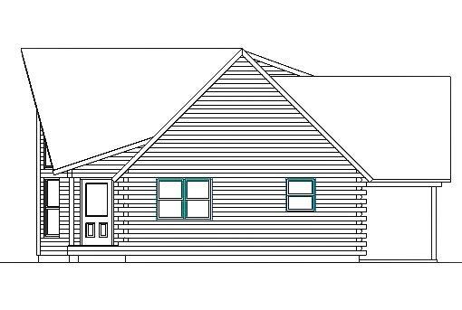 Log Home Plan #03226S