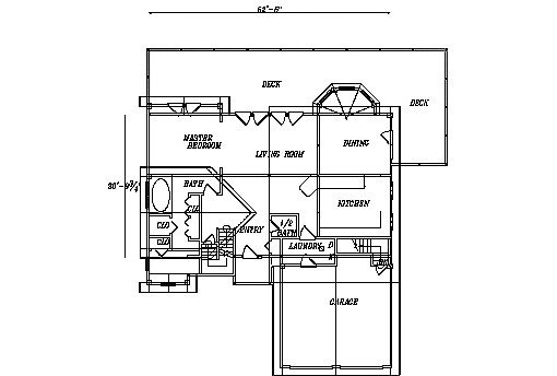 Log Home Plan #03231S
